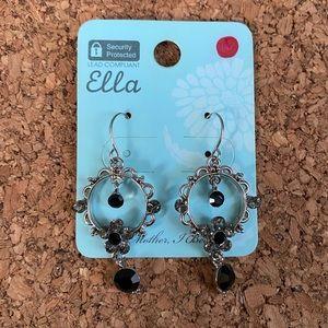 NWT silver dangling earrings